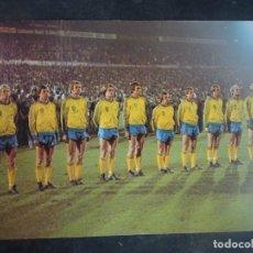 Coleccionismo deportivo: POSTAL DEL EQUIPO DE SUECIA , MUNDIAL 1978, VER FOTOS. Lote 222818761