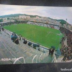 Coleccionismo deportivo: POSTAL LA ROSALEDA, MÁLAGA, DON BALÓN, VER FOTOS. Lote 222819973