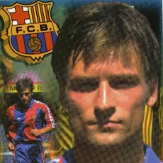Coleccionismo deportivo: FC BARCELONA - KORNEIEV. Lote 222899997