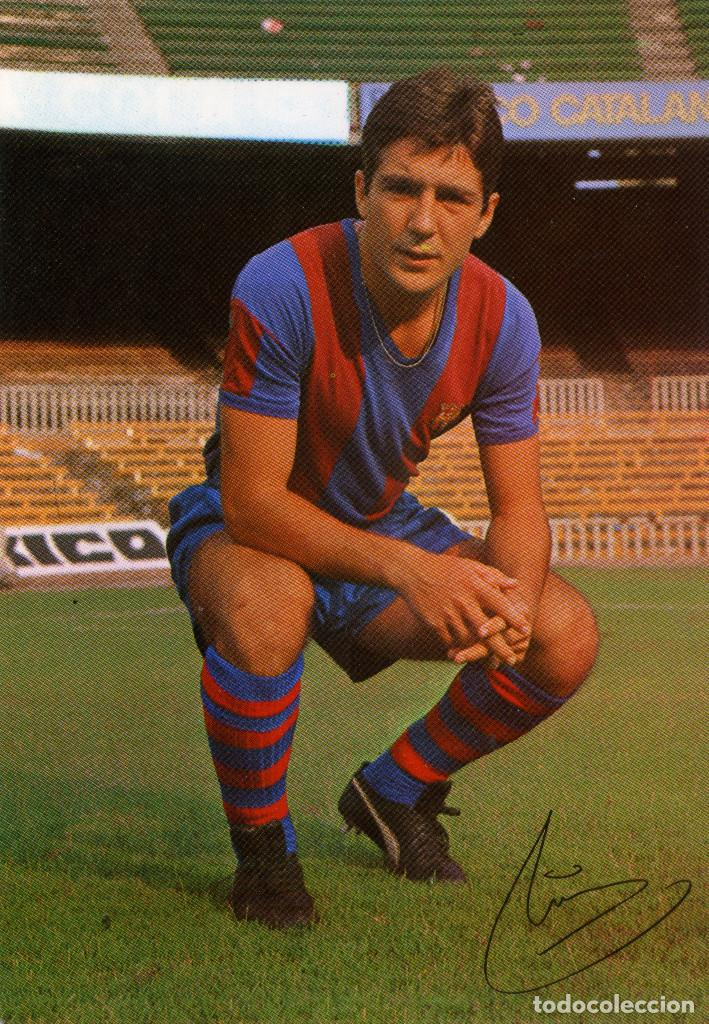 FC BARCELONA - MIR (Coleccionismo Deportivo - Postales de Deportes - Fútbol)