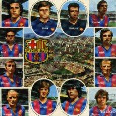 Coleccionismo deportivo: FC BARCELONA - PLANTILLA PROFESIONAL. Lote 222901582