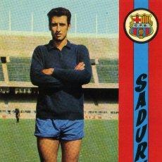 Coleccionismo deportivo: FC BARCELONA - SADURNI. Lote 222901825