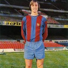 Coleccionismo deportivo: FC BARCELONA - JOHAN CRUYFF. Lote 222902065