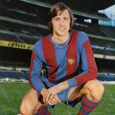 Coleccionismo deportivo: FC BARCELONA - JOHAN CRUYFF. Lote 222902160