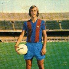 Coleccionismo deportivo: FC BARCELONA - JOHAN NEESKENS. Lote 222902317
