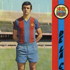 Coleccionismo deportivo: FC BARCELONA - DE LA CRUZ. Lote 222904241