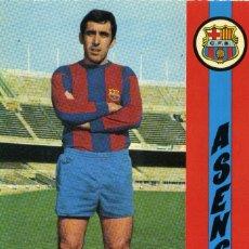 Coleccionismo deportivo: FC BARCELONA - ASENSI. Lote 222904427