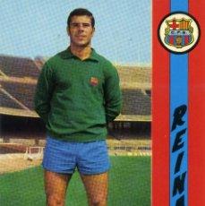 Coleccionismo deportivo: FC BARCELONA - REINA. Lote 222904753