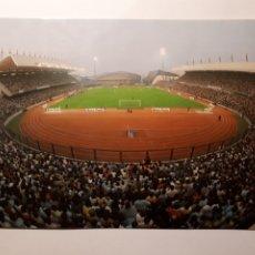 Coleccionismo deportivo: LA CORUÑA. VISTA DEL ESTADIO MUNICIPAL DE RIAZOR. POSTAL DE 1984. Lote 223720701
