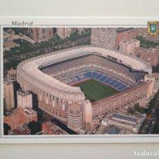 Coleccionismo deportivo: POSTAL ESTADIO REAL MADRID SANTIAGO BERNABEU STADIUM - ESCUDO DE ORO Nº 40 - NO ESCRITA. Lote 223793823
