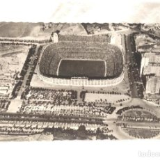 Coleccionismo deportivo: VISTA AEREA CHAMARTIN CAMPO ESTADIO FUTBOL REAL MADRID POSTAL FOTOGRÁFICA AÑO 57, NO CIRCULADA. Lote 224589700