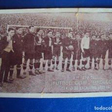 Coleccionismo deportivo: (VP-27)TARJETA F.C.BARCELONA AÑOS 20,ALCANTARA,SAMITIER,PIERA,ETC.-ARCHIVO VICENÇ PIERA. Lote 225002300