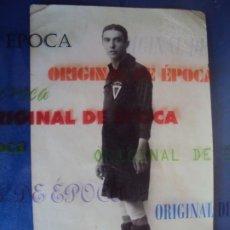 Coleccionismo deportivo: (VP-37)POSTAL FOTOGRAFICA JUGADOR REAL MURCIA AÑOS 20-ARCHIVO VICENÇ PIERA. Lote 225005125