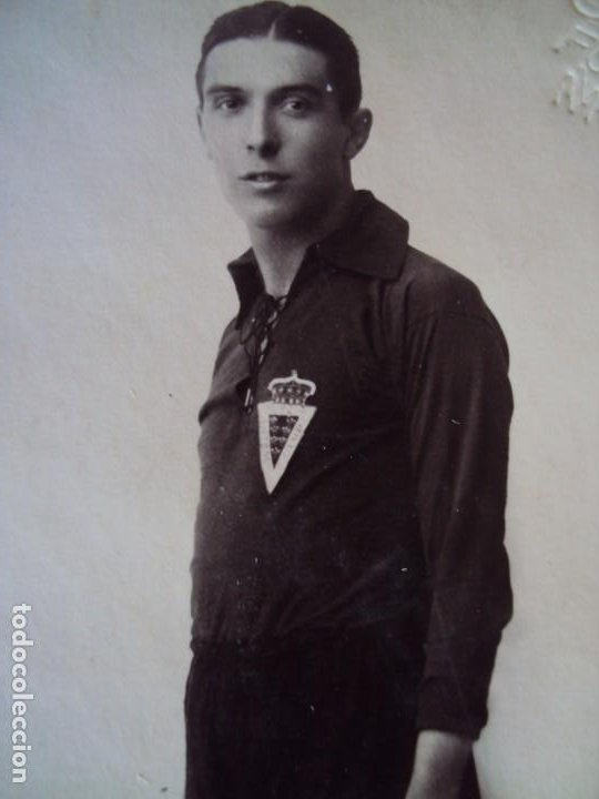 Coleccionismo deportivo: (VP-37)POSTAL FOTOGRAFICA JUGADOR REAL MURCIA AÑOS 20-ARCHIVO VICENÇ PIERA - Foto 2 - 225005125