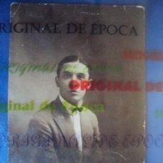 Coleccionismo deportivo: (VP-38)POSTAL FOTOGRAFICA JUGADOR REAL MURCIA AÑOS 20,DEDICADA A PIERA-ARCHIVO VICENÇ PIERA. Lote 225005287