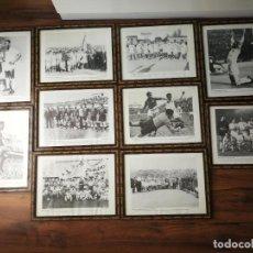 Coleccionismo deportivo: LOTE CUADROS CON FOTOGRAFÍAS DEL VALENCIA CLUB DE FÚTBOL. Lote 225504491