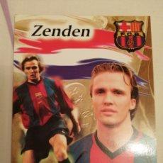 Collectionnisme sportif: POSTAL JUGADOR DEL FC BARCELONA ZENDEN. Lote 225819922