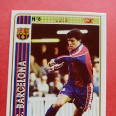 Collectionnisme sportif: Nº 8 LUIS ULTIMA HORA FC BARCELONA FICHAS LIGA 94 95 (1994 1995) MUNDICROMO. Lote 226486985