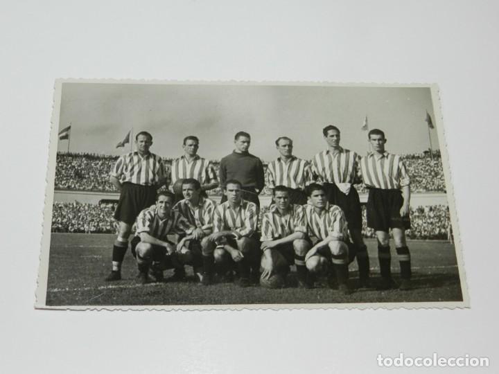 Coleccionismo deportivo: LOTE DE 3 POSTALES FINAL DE LA COPA DEL GENERALISIMO 1944 ATH BILBAO 2 - VALENCIA FC 0 - Foto 3 - 228127945