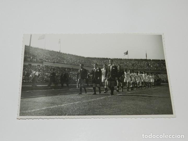 Coleccionismo deportivo: LOTE DE 3 POSTALES FINAL DE LA COPA DEL GENERALISIMO 1944 ATH BILBAO 2 - VALENCIA FC 0 - Foto 4 - 228127945