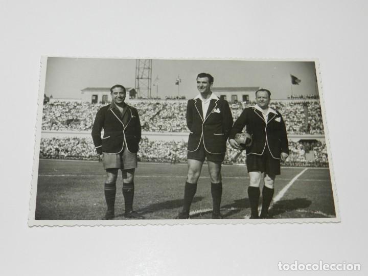 Coleccionismo deportivo: LOTE DE 3 POSTALES FINAL DE LA COPA DEL GENERALISIMO 1944 ATH BILBAO 2 - VALENCIA FC 0 - Foto 5 - 228127945