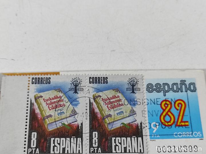Coleccionismo deportivo: Postal España 82 - Felicitación y Participación de la Lotería - Filatelia L. Monge - Foto 2 - 231445915