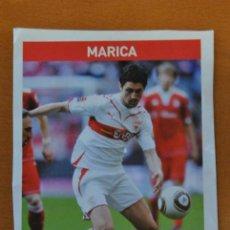 Colecionismo desportivo: FICHA DE LA REVISTA ONZE DE MARICA CON VFB STUTTGART - GOLY. Lote 233388470