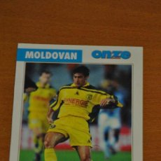 Colecionismo desportivo: FICHA DE LA REVISTA ONZE DE MOLDOVAN CON NANTES - GOLY. Lote 233406595