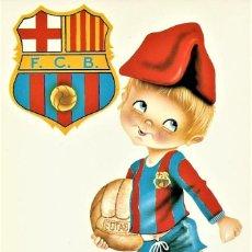 Coleccionismo deportivo: ANTIGUA POSTAL DEL F.C.BARCELONA DE LOS AÑOS 60. Lote 233381615