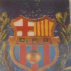 Coleccionismo deportivo: POSTAL DEL F.C.BARCELONA EN 3D DE LOS AÑOS 50. Lote 233382225