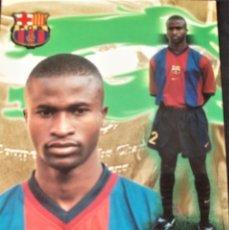 Coleccionismo deportivo: POSTAL DEL F.C.BARCELONA OKUNOWO. Lote 233382810