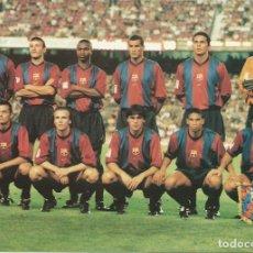 Coleccionismo deportivo: ANTIGUA POSTAL DEL F.C.BARCELONA PLANTILLA. Lote 233497490