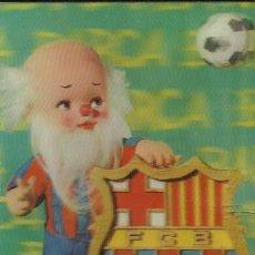 Coleccionismo deportivo: ANTIGUA POSTAL DEL F.C.BARCELONA EN 3D EL AVI DEL BARÇA. Lote 233498540