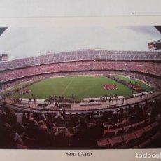 Coleccionismo deportivo: ANTIGUA POSTAL DEL F.C.BARCELONA EL NOU CAMP. Lote 233500275