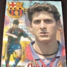 Coleccionismo deportivo: ANTIGUA POSTAL DEL F.C.BARCELONA JUAN CARLOS MORENO. Lote 233502550