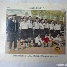 Collectionnisme sportif: EQUIPO VALENCIA F.C. DE LOS AÑOS 1920 C.-239. Lote 234119415