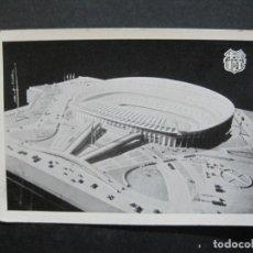 Coleccionismo deportivo: FC BARCELONA-MAQUETA DEL NUEVO ESTADIO-CAMPO FUTBOL-POSTAL ANTIGUA-(76.767). Lote 234392555