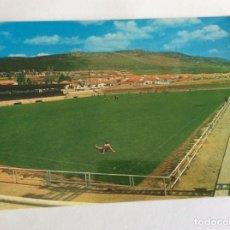 Coleccionismo deportivo: POSTAL CAMPO FÚTBOL. ESTADIO CALVO SOTELO. PUERTOLLANO. CIUDAD REAL. 1968. Lote 234931300