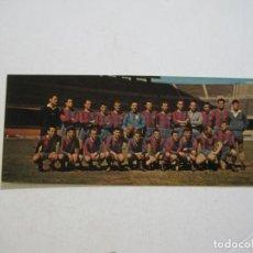 Coleccionismo deportivo: FC BARCELONA-PLANTILLA JUGADORES-CAMPEON LIGA 1958 1959-POSTAL DOBLE-FOTO T.A.F.-VER FOTOS-(K-1680). Lote 235178395
