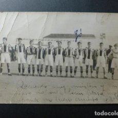 Coleccionismo deportivo: MADRID EQUIPO DE FUTBOL AÑOS 20 POSTAL FOTOGRAFICA. Lote 236091240
