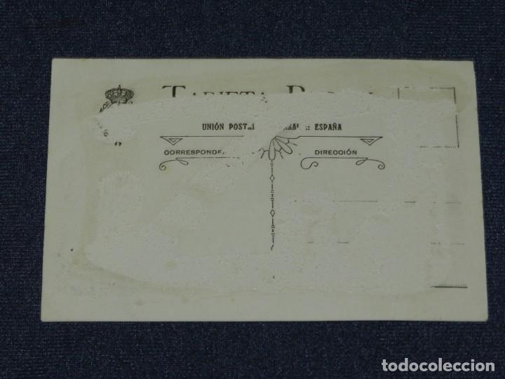 Coleccionismo deportivo: ESPECTACULAR POSTAL ORIGINAL FC BARCELONA 1920 / 1921 RICARDO ZAMORA, SAMITIER, PAULINO ALCANTARA - Foto 3 - 236188615