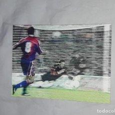 Coleccionismo deportivo: ANTIGUA POSTAL HOLOGRÁFICA FUTBOL CLUB BARCELONA GOL DE STOICHKOV BARÇA-SEVILLA 5-2 AÑO 1994. Lote 236454205