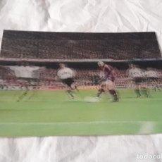 Coleccionismo deportivo: ANTIGUA POSTAL HOLOGRÁFICA FUTBOL CLUB BARCELONA GOL DE RONALDO BARÇA-VALENCIA 3-2 AÑO 1996. Lote 236454855