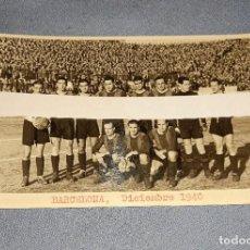 Coleccionismo deportivo: ANTIGUA FOTO POSTAL DE FUTBOL DEL BARCELONA DICIEMBRE AÑO 1940 ORIGINAL. Lote 236972985