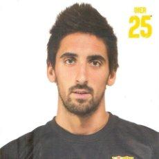 Coleccionismo deportivo: POSTAL OIER OLAZÁBAL FC BARCELONA. Lote 237135990