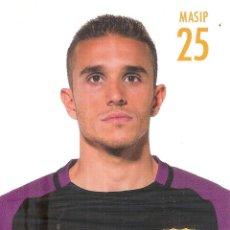 Coleccionismo deportivo: POSTAL JORDI MASIP FC BARCELONA. Lote 237136130