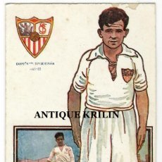 Coleccionismo deportivo: JUGADORES DE FOOT-BALL SERIE B Nº 4 HERMINIO /SEVILLA C.F. / CHOCOLATES AMATLLER. Lote 238708145
