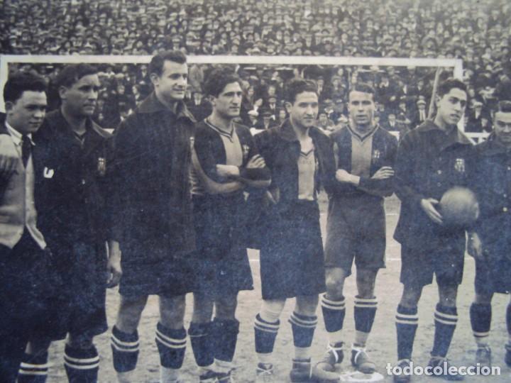 Coleccionismo deportivo: (VP-110)FOTOGRAFIA DE PIERA,ALCANTARA,SAMITIER,F.C.BARCELONA FOOT-BALL AÑOS 20-ARCHIVO VICENÇ PIERA - Foto 2 - 239432745