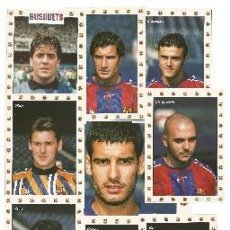 Coleccionismo deportivo: LOTE DE 25 POSTALES F. C. BARCELONA JUGADORES DE LOS AÑOS 90. Lote 240454305