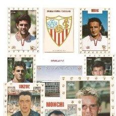 Coleccionismo deportivo: LOTE DE 50 POSTALES SEVILLA F.C. DE LOS AÑOS 90. Lote 240533535